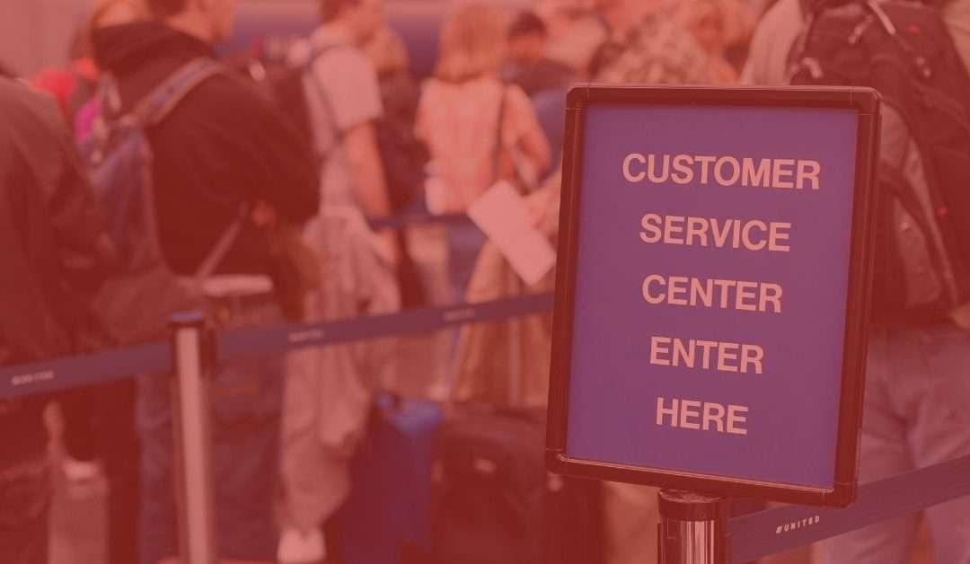 Travel customer service: balancing quality and volume