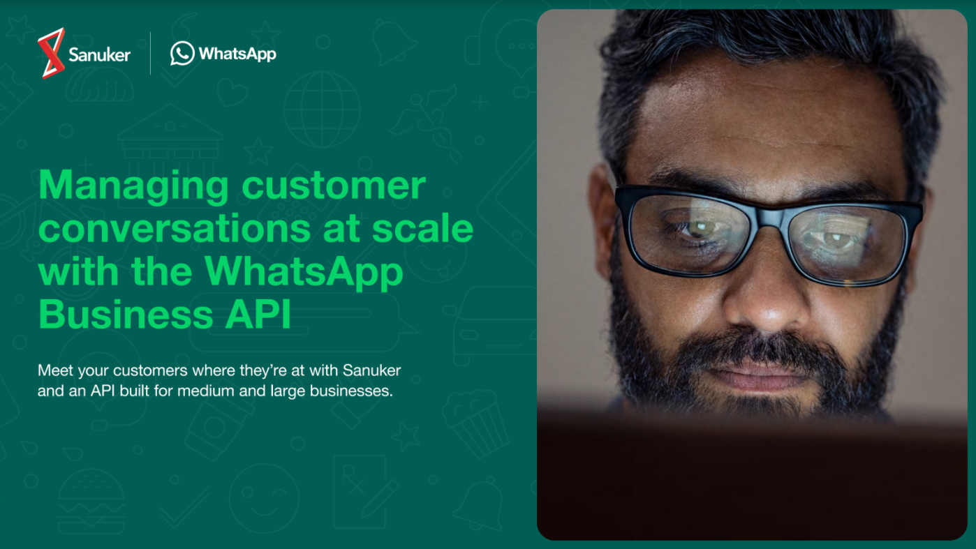 Managing customer conversations at scale with the WhatsApp Business API